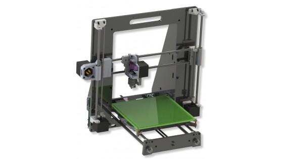 3D принтер Irwin Modus 3D (комплект для сборки)