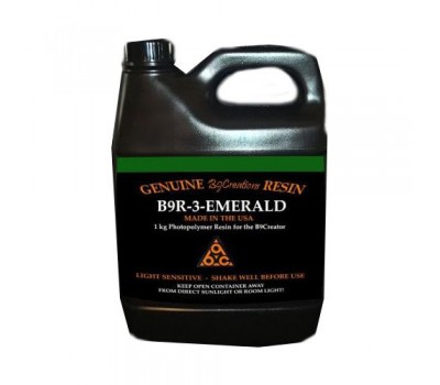 Фотополимер B9R Emerald Resin США 1 кг